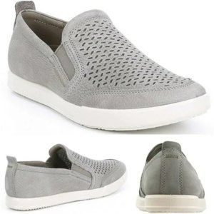 ECCO Collin 2.0 Men Suede Shoe Grey Size 42
